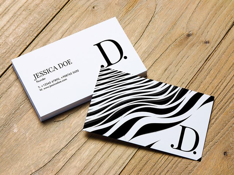 Creativebooster Business Card Mock Up