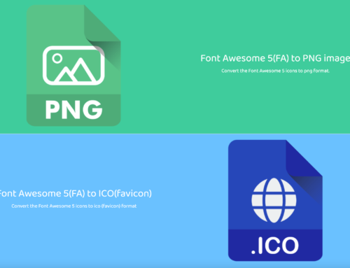 Font Awesome To PNG and ICO images